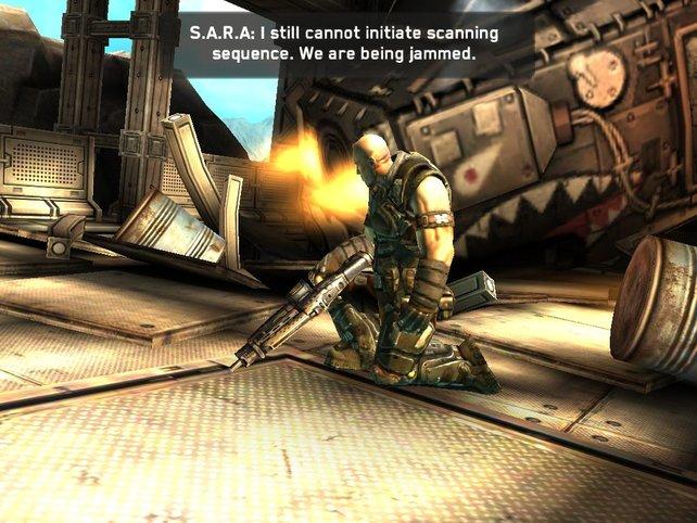 Keine Frage: Shadowgun sieht klasse aus.