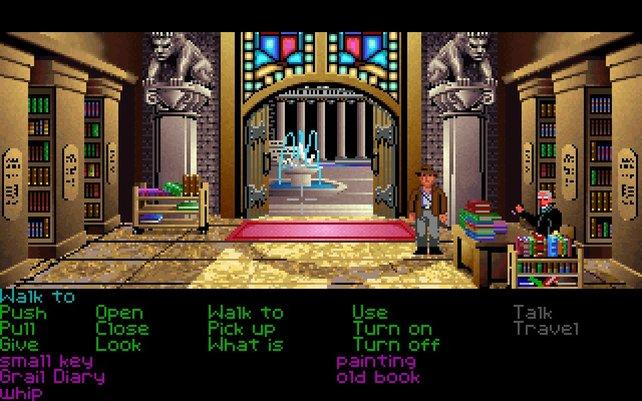 """""""Ah, Venedig!"""" - in seinen Adventures besucht Indiana Jones exotische Orte."""