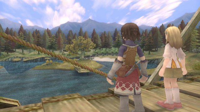 Idyllischen Landschaften, schöne Seen, grafisch überzeugt das Spiel.