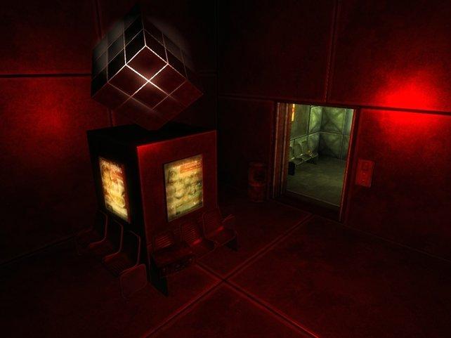 """Die Modifikation """"Cube Experimental"""" entführt den Spieler in ein gefährliches Labyrinth."""