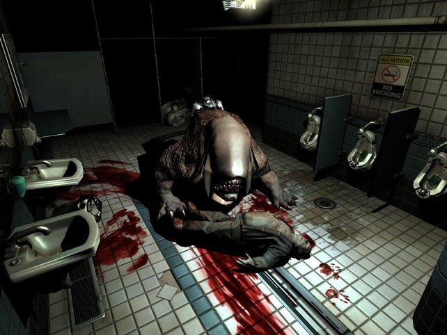 Der Horror-Aspekt macht die Serie zum Kult (im Bild: Doom 3).