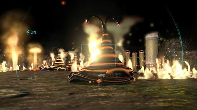 Gegen brennende Gegner sind nur die roten Pikmin immun.