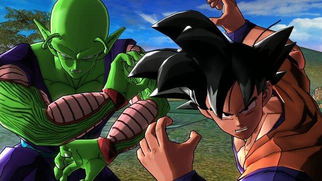 Piccolo und Son Goku - früher waren sie Feinde, jetzt kämpfen sie Seite an Seite.