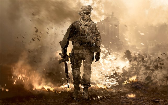 Mit viel Spektakel bricht Call of Duty - Modern Warfare 2 Verkaufsrekorde.