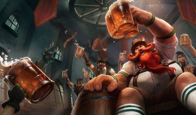 Oans, zwoa, Gsuffa! In League of Legends soll es deftig bayrisch zur Sache gehen.