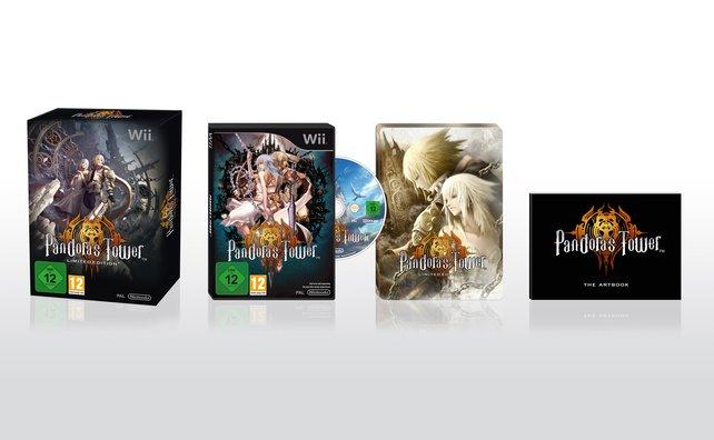 Die limitierte Sammlerausgabe von Pandora's Tower.