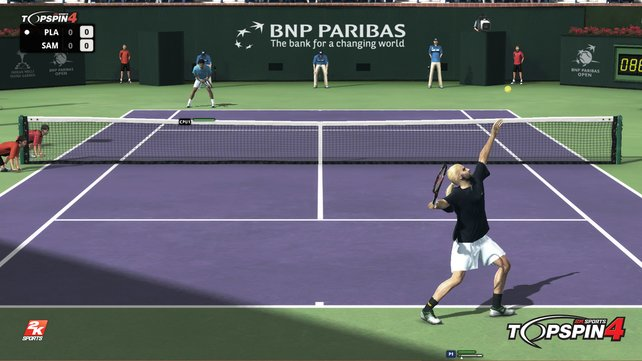 Top Spin 4 ist wirklich ganz großes Tennis.