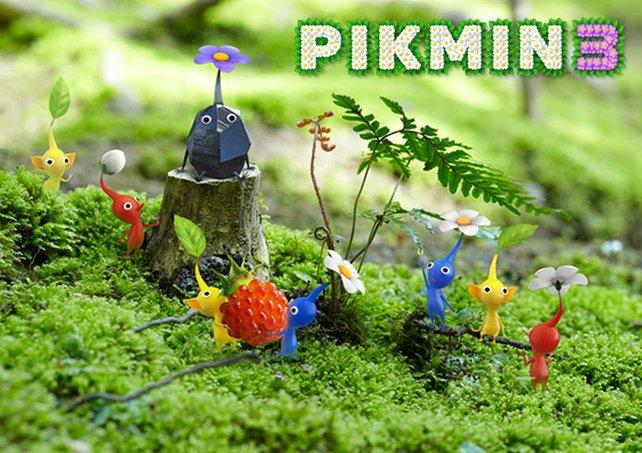 Zu den größten Starttiteln zählt auch Pikmin 3.
