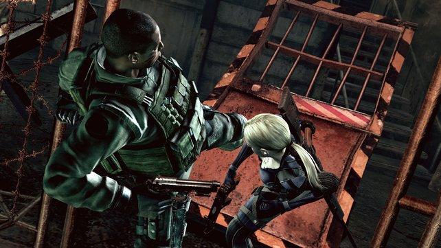 Zusammen mit Jill geht's den Mutanten an den Kragen!