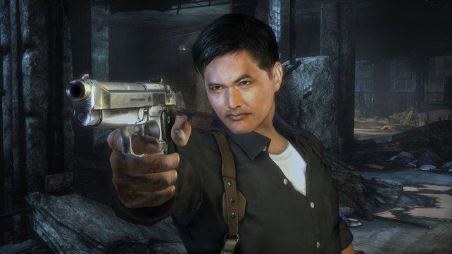 Held Tequila ist dem Schauspieler Chow Yun-Fat aus dem Gesicht geschnitten.