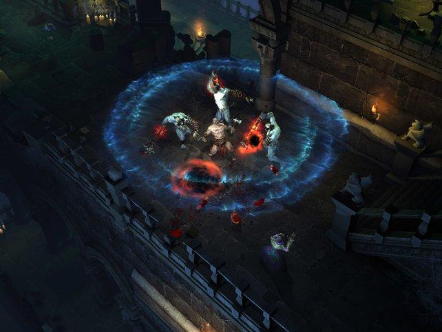 Nicht auf der Messe vertreten: Diablo 3.