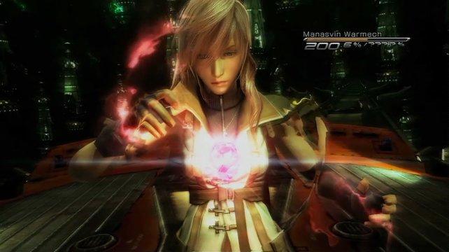 Griff nach den Rollenspiel-Sternen, erhielt aber nur substanzlosen Glimmer: Lightning aus Final Fantasy XIII.