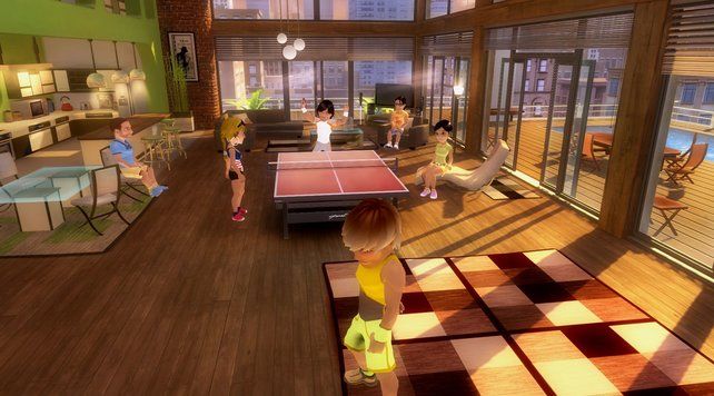 Tischtennis ist eine der Disziplinen.