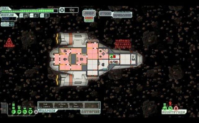Ein Traum für Weltraum-Taktiker.