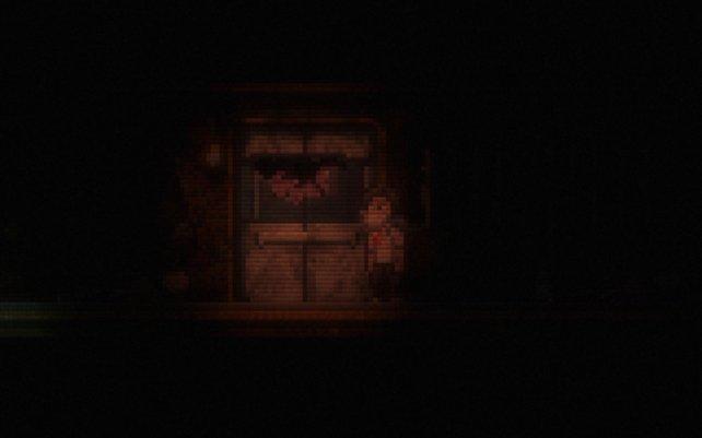 Egal, was hinter dieser Tür lauert, es wäre lieber verborgen geblieben.