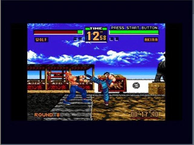 Das ist ein  Bild aus dem genialen Virtual Fighter 2