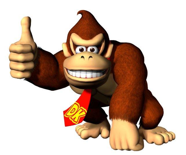 Donkey Kong springt 1994 ein, um das SNES zu retten.
