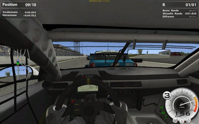 Die Cockpitansicht wirkt lieblos.