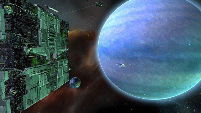 Die Borg, unterwegs zum nächsten Planeten der assimiliert werden muss