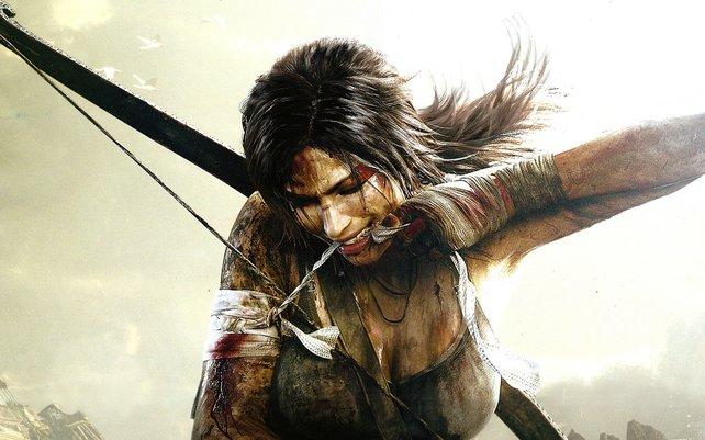 In Tomb Raider spielt ihr die junge Lara Croft, die sich erst noch zur Überlebenskünstlerin mausert.