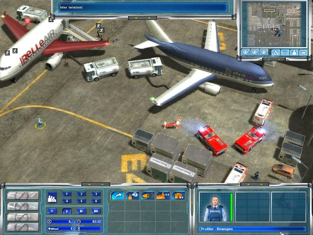 Ein Einsatz auf dem Flugplatz