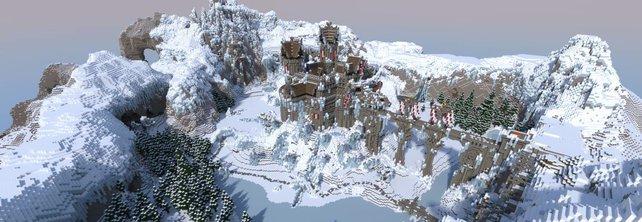 Minecraft-Kunstwerke