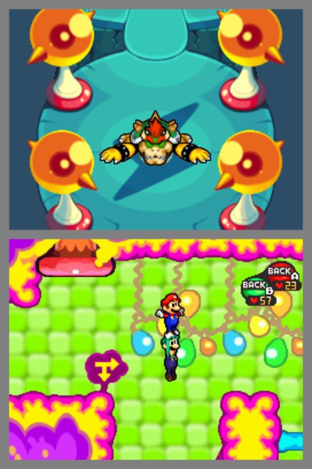 Bowser, Mario und Luigi in Zusammenarbeit?