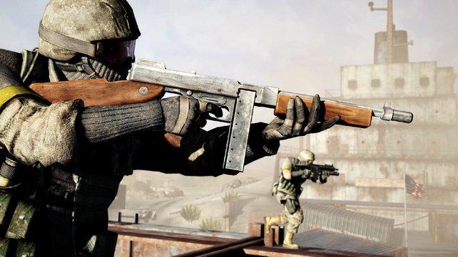 Die M1A1-Maschinenpistole gibt es nur in der limitierten Version.
