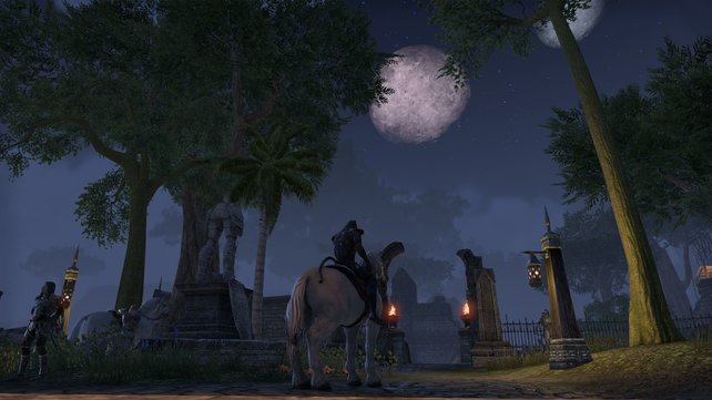 The Elder Scrolls Online schickt euch in die atmosphärische Fantasy-Welt Tamriel.