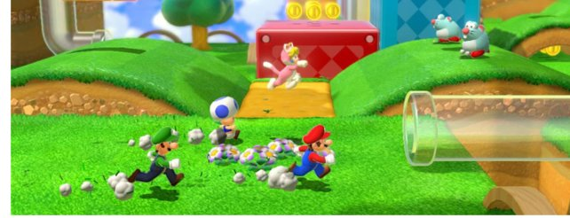 Super Mario 3D World: Neue Funktionen im Video
