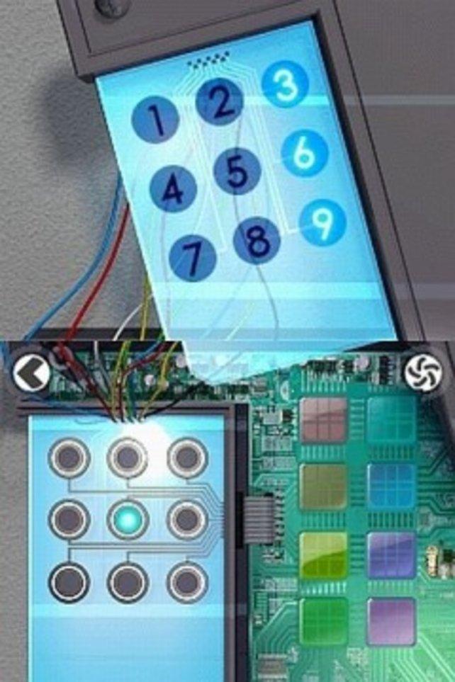 Bei den Rätseln (nur hier mit zwei benutzten Bildschirmen) stimmt oft jedes elektronische Detail.