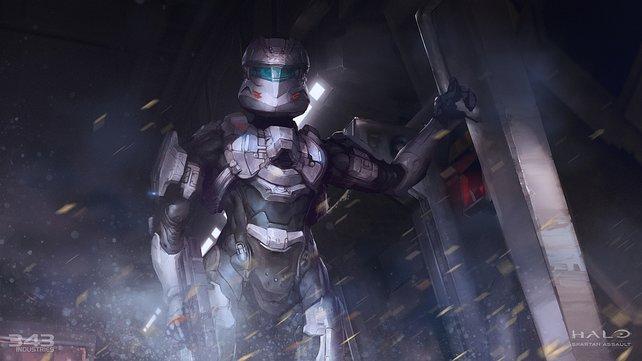 Kommandeurin Sarah Parker ist eine der Hauptfiguren in Halo - Spartan Assault.