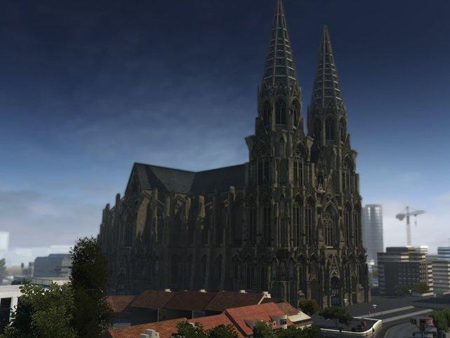 Der Kölner Dom im neuen Alarm für Cobra 11.
