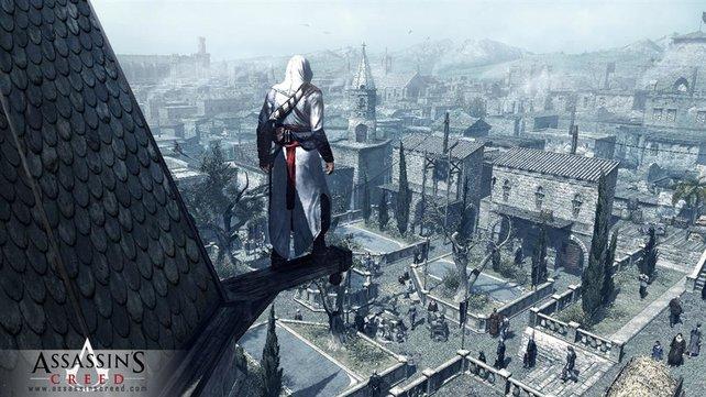 2007 könnt ihr zum ersten Mal die Welt von Assassin's Creed erkunden.