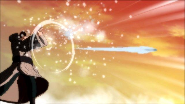 Seine Energiegeschosse sind gefährlich: Mizukage, der Shinobi aus dem Wasserreich.