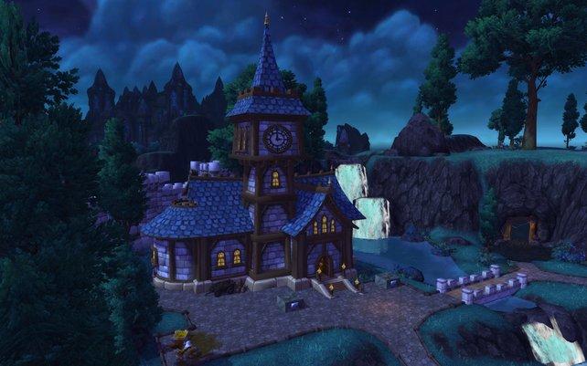 In Draenor errichtet ihr eure eigene Festung mit Spezialgebäuden.