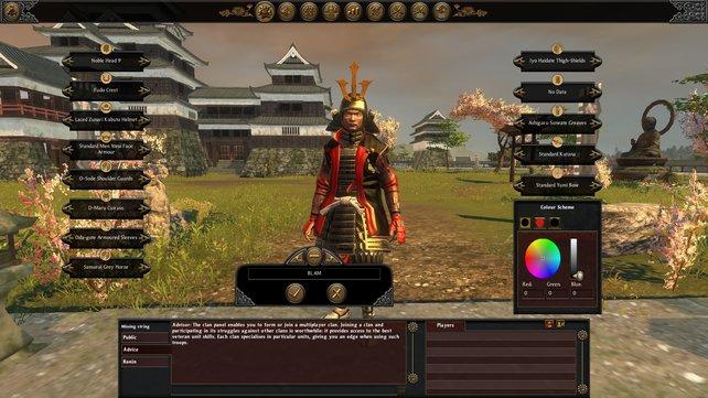 Für den Multiplayer liefert Creative Assembly einen umfangreichen Editor mit.