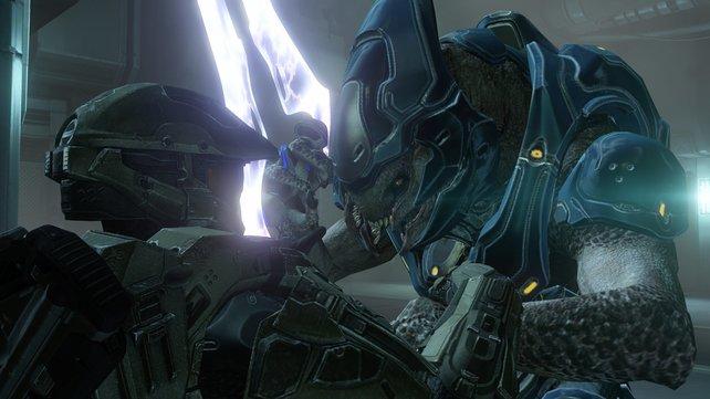 In Halo 4 bekommt ihr es wieder mit der außerirdischen Elite zu tun.