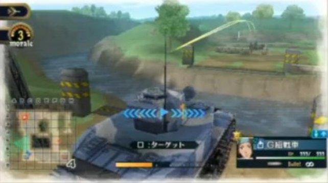 Später führt ihr auch Panzer ins Feld.