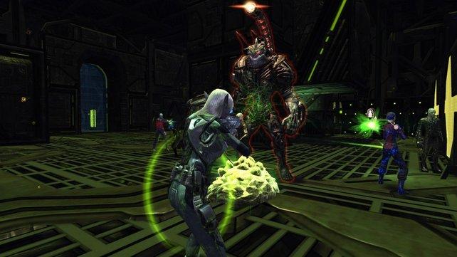 Die Bodenkämpfe spielen sich meist gleich und langweilen nach einiger Zeit. Selbst wenn es gegen die Borg geht.