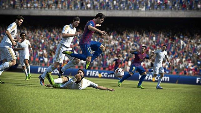 Fifa 13 setzt auf Realitätsnähe und etwas Unberechenbarkeit