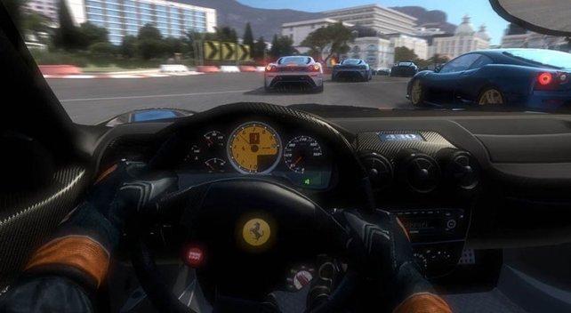 Das intensivste Rennerlebnis gibt es im Cockpit.