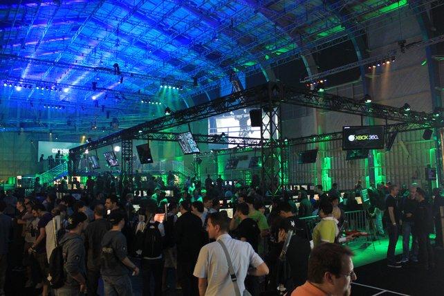 Auf der Call of Duty XP laden 1.000 Xbox-360-Konsolen zur Proberunde ein.