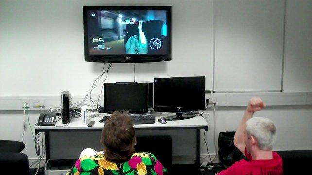 Die Entwickler kämpften verbissen um den Online-Sieg.