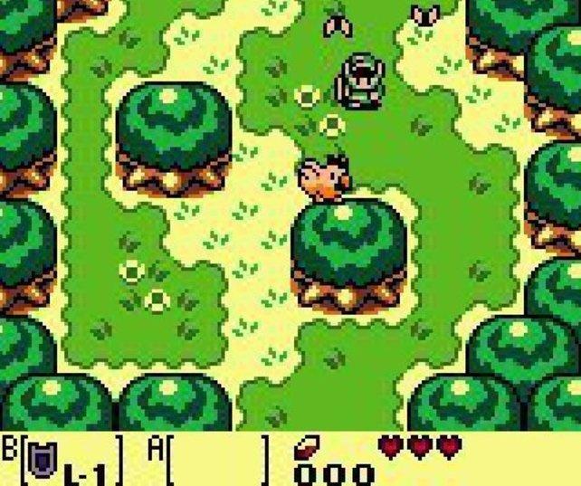 Hinter der schlichten Grafik verbirgt sich eines der besten Zeldas aller Zeiten.