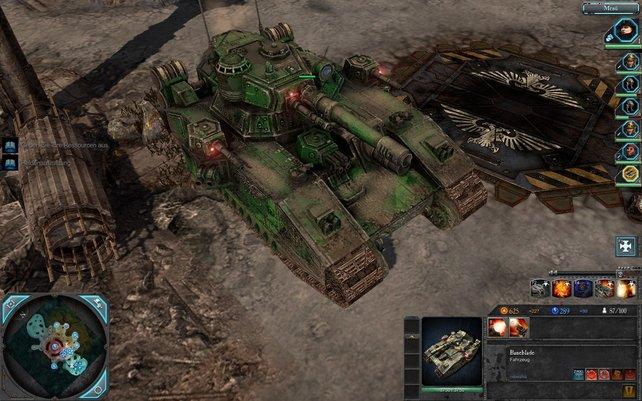 Der imperiale Baneblade-Panzer zählt zu den stärksten Einheiten im Spiel.