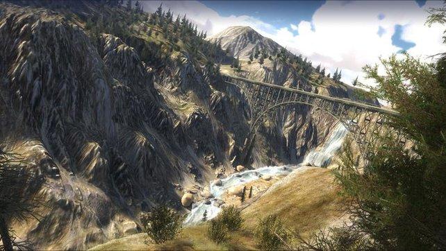 Die wunderschöne Landschaft