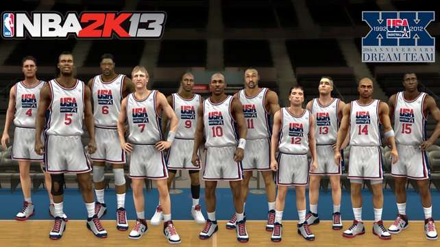 Das sogenannte Dream-Team der Vereinigten Staaten von 1992 ist spielbar.