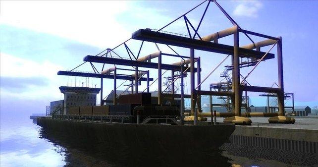 Hafenarbeit - anscheinend einer der langweiligsten Berufe der Welt.
