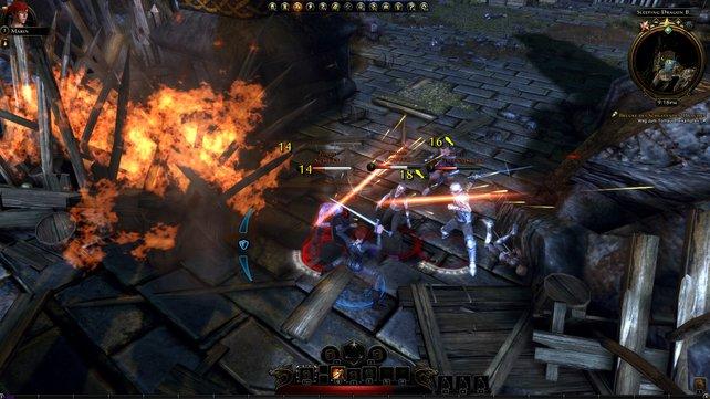 Neverwinter kann mit anderen Online-Rollenspielen auf jeden Fall mithalten.